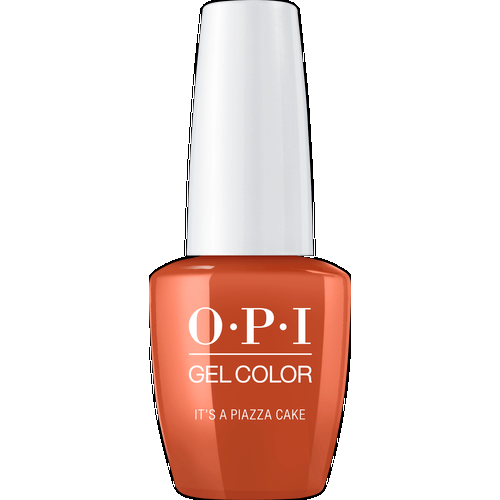OPI GELCOLOR, IT'S A PIAZZA CAKE