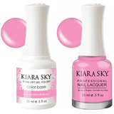 Kiara Sky Gel + Nail Polish - You Make Me Blush - 405