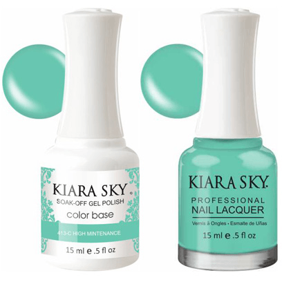 Kiara Sky Gel + Nail Polish - High Maintenance - 413