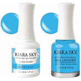 Kiara Sky Gel + Nail Polish - Skies The Limit - 415