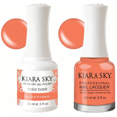 Kiara Sky Gel + Nail Polish - Son Of A Peach - 418