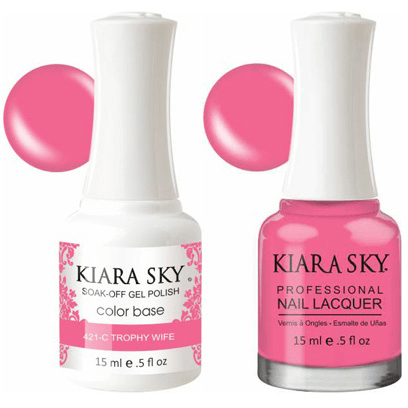 Kiara Sky Gel + Nail Polish - Trophy Wife - 421