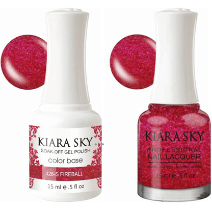 Kiara Sky Gel + Nail Polish - Fireball - 426