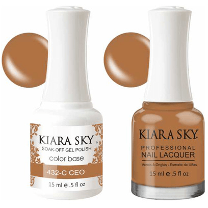 Kiara Sky Gel + Nail Polish - CEO - 432