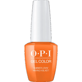 OPI GELCOLOR, SUMMER LOVIN' HAVING A BLAST