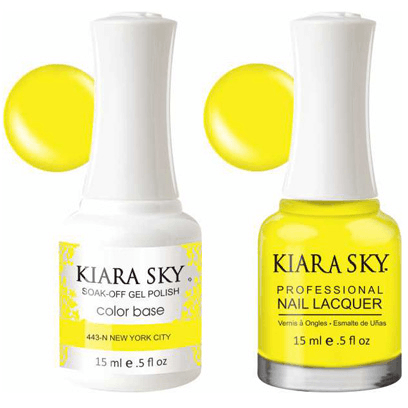 Kiara Sky Gel + Nail Polish - New York City - 443