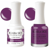 Kiara Sky Gel + Nail Polish - Grape Your Attention - 445
