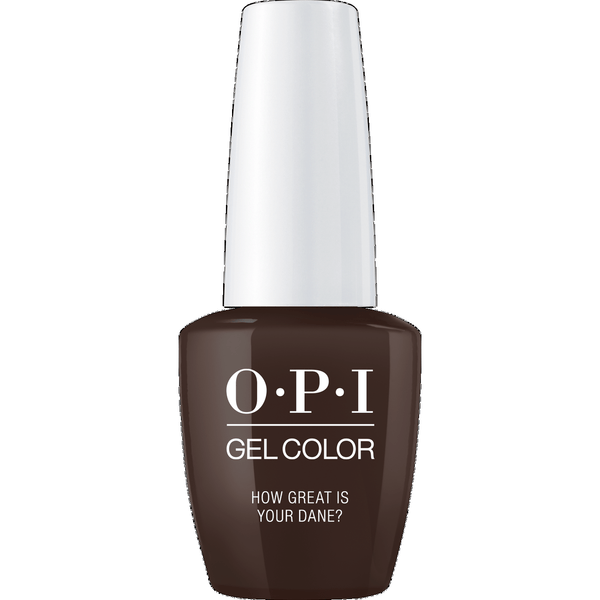 OPI GELCOLOR, HOW GREAT IS YOUR DANE