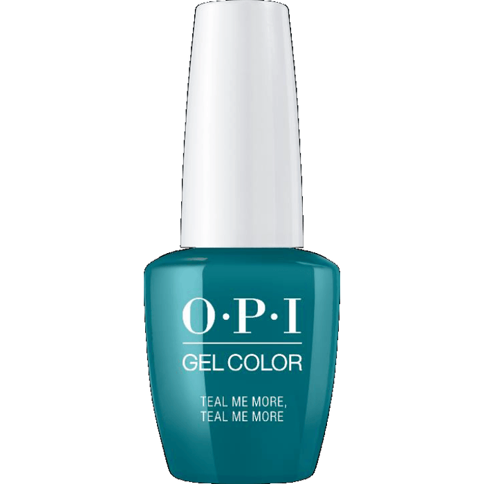 OPI GELCOLOR, TEAL ME MORE, TEAL ME MORE