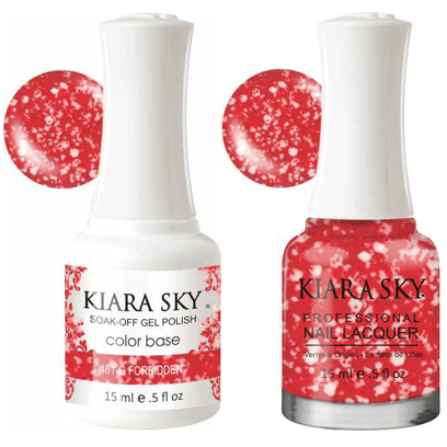 Kiara Sky Gel + Nail Polish - Forbidden - 461