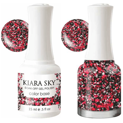 Kiara Sky Gel + Nail Polish - Cherry Dust - 464