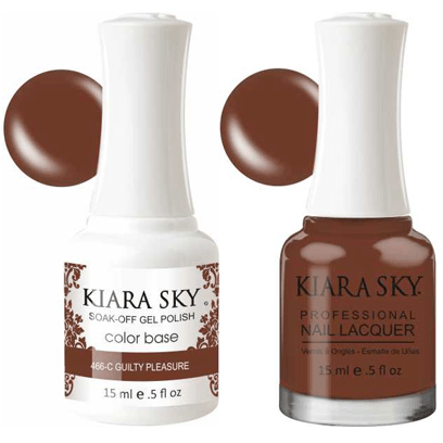Kiara Sky Gel + Nail Polish - Guilty Pleasure – 466