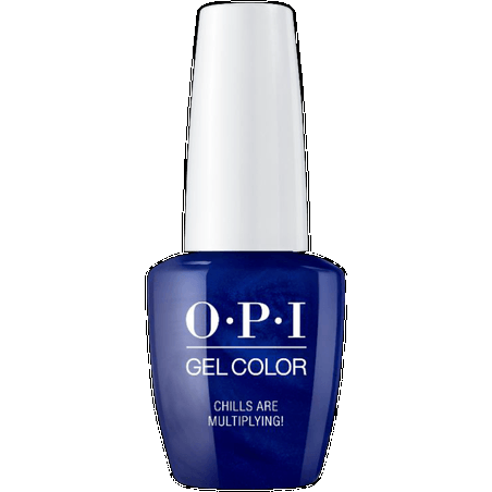 OPI GELCOLOR , CHILLS ARE MULTIPLYING!