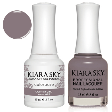 Kiara Sky Gel + Nail Polish - CountryChick 512