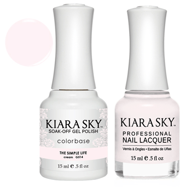 Kiara Sky Gel + Nail Polish - THE SIMPLE LIFE #514