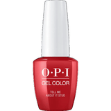 OPI GELCOLOR, TELL ME ABOUT IT STUD