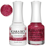 Kiara Sky Gel + Nail Polish - STRAWBERRY DAIQUIRI 522