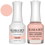 Kiara Sky Gel + Nail Polish - TICKLED PINK 523