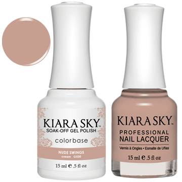 Kiara Sky Gel + Nail Polish - NUDE SWINGS 530