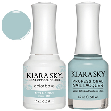 Kiara Sky Gel + Nail Polish - AFTER THE REIGN 535
