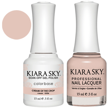 Kiara Sky Gel + Nail Polish - CREAM OF THE CROP 536