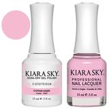 Kiara Sky Gel + Nail Polish - COTTON KISSES 537