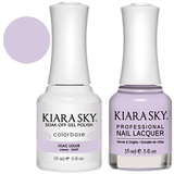 Kiara Sky Gel + Nail Polish -LILAC LOLLIE 539