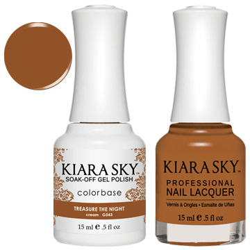 Kiara Sky Gel + Nail Polish -TREASURE THE NIGHT 543