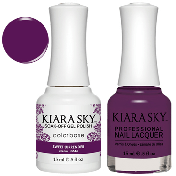 Kiara Sky Gel + Nail Polish - SWEET SURRENDER 544