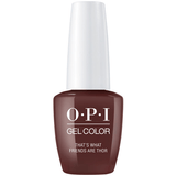 OPI GELCOLOR, THAT'S WHAT FRIENDS ARE THOR - I54