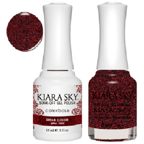 Kiara Sky Gel + Nail Polish set - DREAM ILLUSION