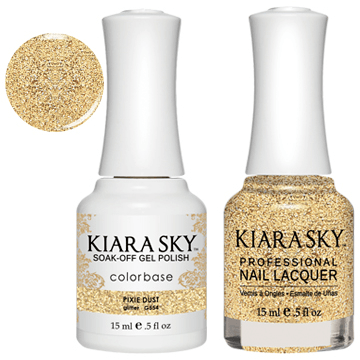 Kiara Sky Gel + Nail Polish - PIXIE DUST 554