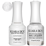 Kiara Sky Gel + Nail Polish - FROSTED SUGAR #555