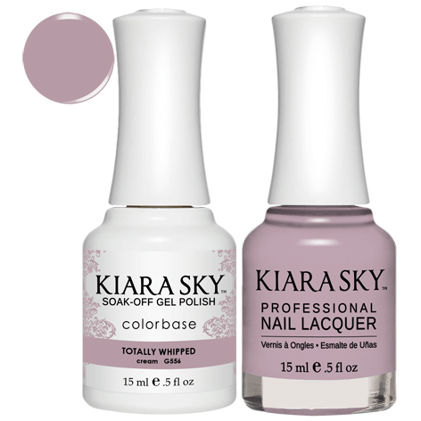 Kiara Sky Gel + Nail Polish - TOTALLY WHIPPED