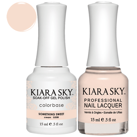 Kiara Sky Gel + Nail Polish - SOMETHING SWEET #558
