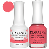 Kiara Sky Gel + Nail Polish - CHERRY ON TOP #563