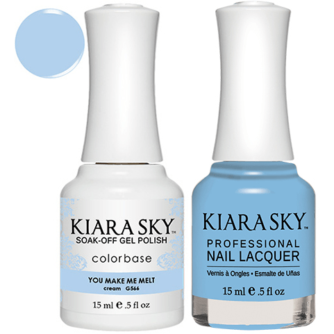 Kiara Sky Gel + Nail Polish - YOU MAKE ME MELT