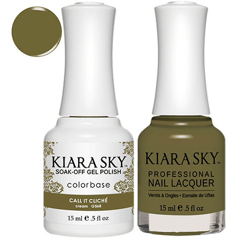 Kiara Sky Gel + Nail Polish - CALL IT CLICHÉ