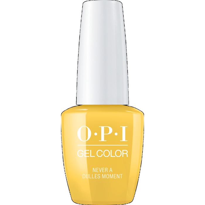 OPI GELCOLOR, NEVER A DULLES MOMENT
