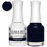 Kiara Sky Gel + Nail Polish - MIDNIGHT IN PARIS