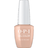 OPI GELCOLOR, PALE TO THE CHIEF - W57