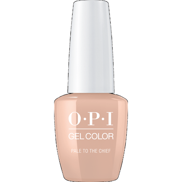 OPI GELCOLOR, PALE TO THE CHIEF