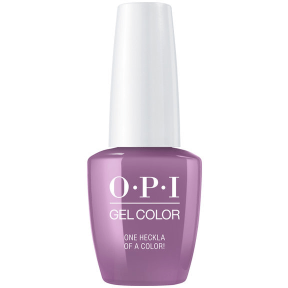 OPI GELCOLOR, ONE HECKLA OF A COLOR!