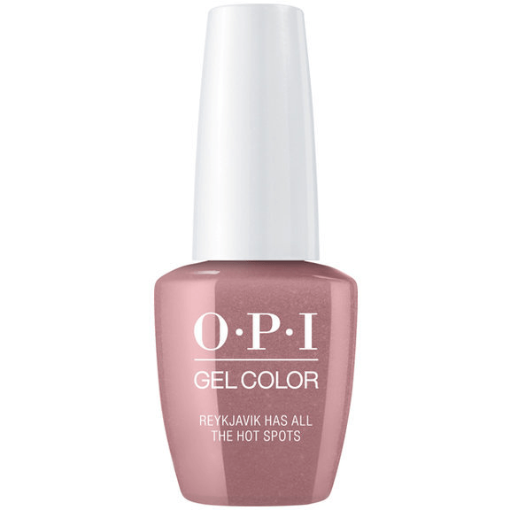 OPI GELCOLOR, REYKJAVIK HAS ALL THE HOT SPOTS - I63
