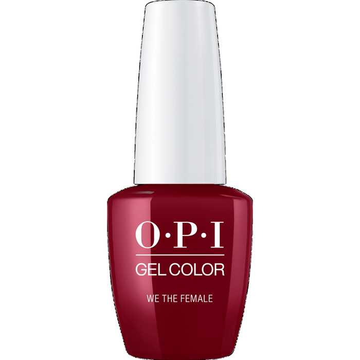 OPI GELCOLOR, WE THE FEMALE