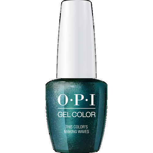 OPI GELCOLOR, THIS COLOR'S MAKING WAVES - H74