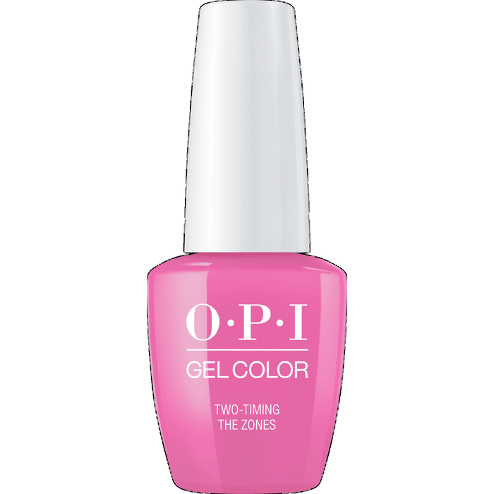 OPI GELCOLOR, TWO TIMING THE ZONE