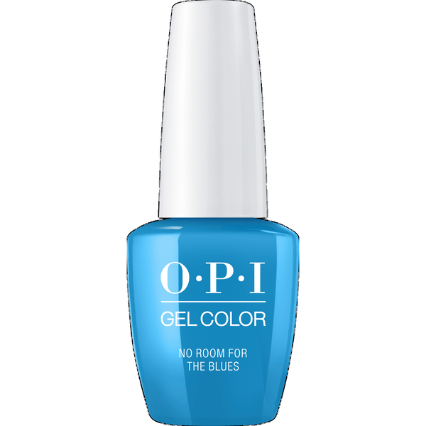 OPI GELCOLOR, NO ROOM FOR THE BLUES