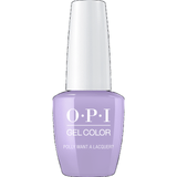 OPI GELCOLOR, POLLY WANT A LACQUER - F83