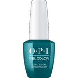 OPI GELCOLOR, IS THAT A SPEAR IN YOUR POCKET
